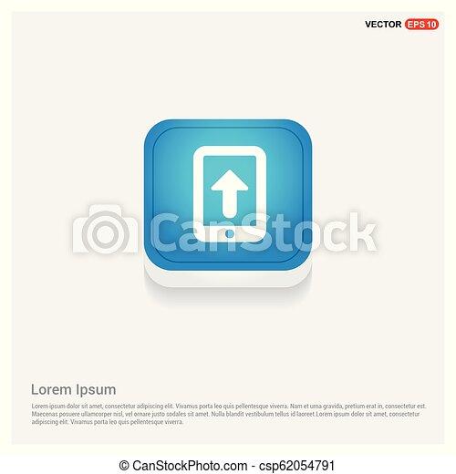 telefono mobile, icona - csp62054791