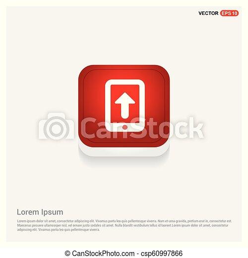telefono mobile, icona - csp60997866