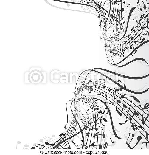 tema, musica - csp6575836