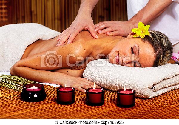 terme, massage. - csp7463935