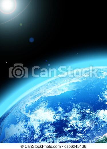 terra, pianeta - csp6245436