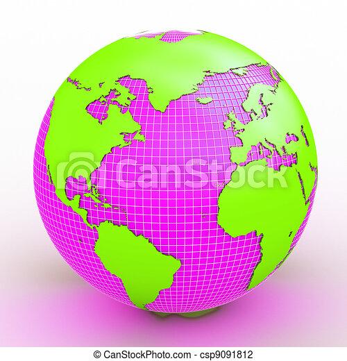 terra pianeta - csp9091812