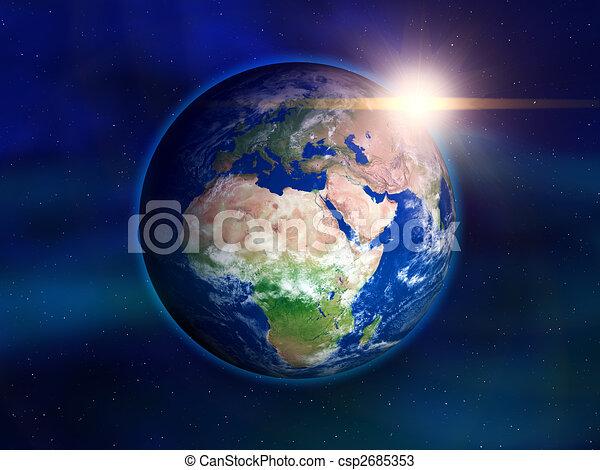 terra pianeta - csp2685353