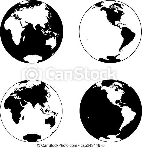terra pianeta - csp24344675