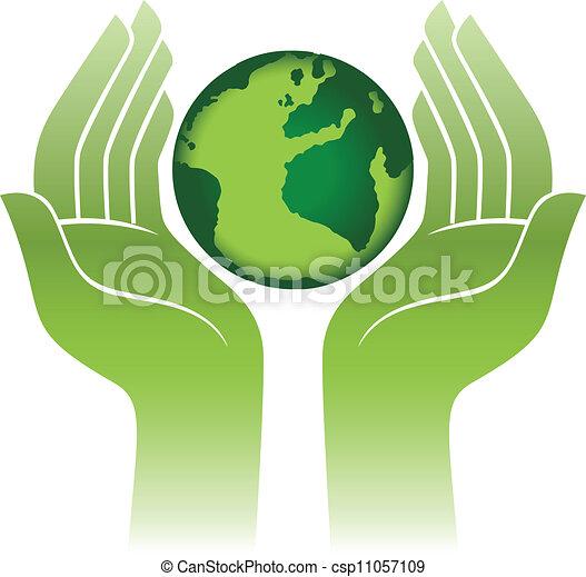 terra pianeta, mani - csp11057109