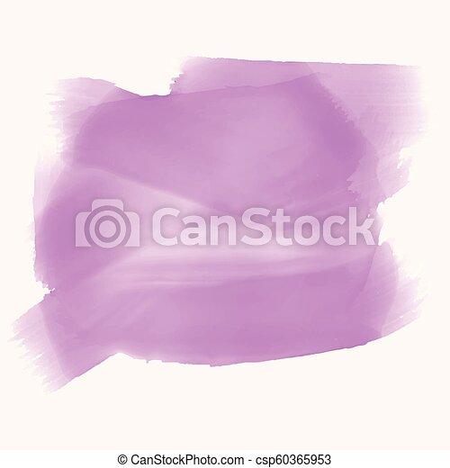 testo, acquarello, struttura, spazio, viola - csp60365953
