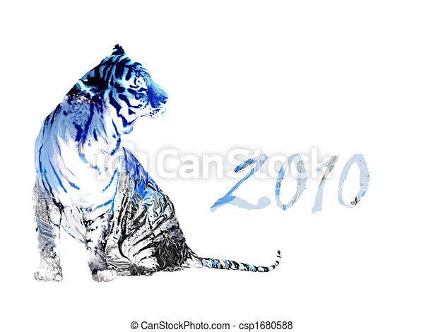tiger, 2010, anno - csp1680588