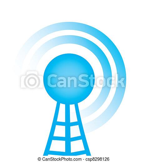 torre, radio - csp8298126
