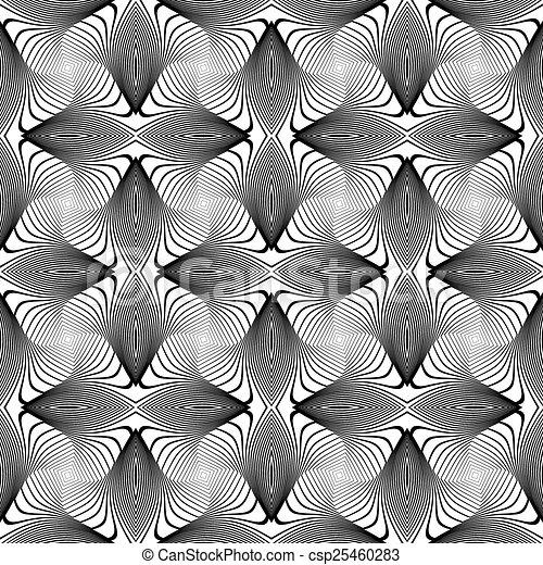 turbine, linee, seamless, disegno, fondo, monocromatico - csp25460283