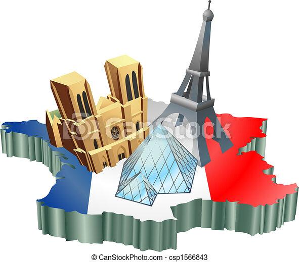 turismo, francese - csp1566843