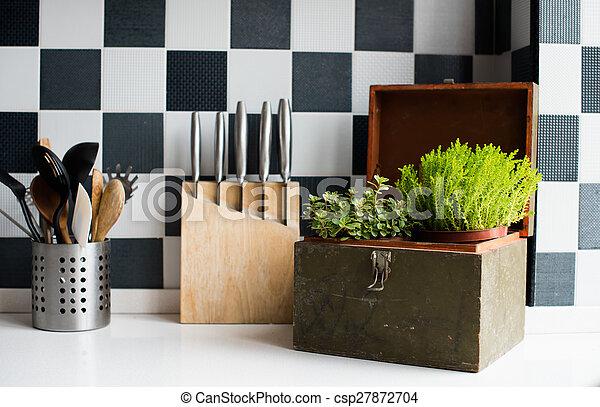 utensili, cucina - csp27872704