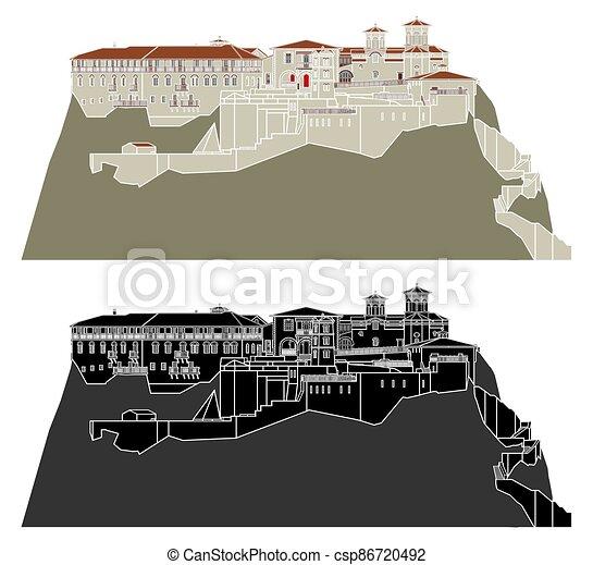 varlaam, monastero, meteora - csp86720492