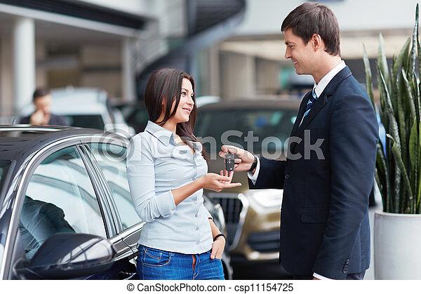 vendite automobile - csp11154725