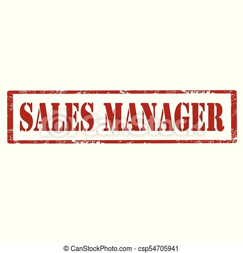 vendite, manager-stamp - csp54705941