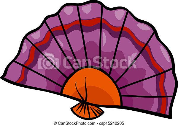 ventilatore, arte clip, cartone animato, illustrazione - csp15240205