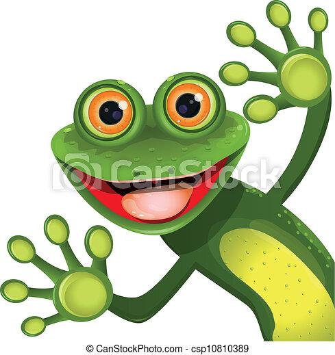 verde, allegro, rana - csp10810389