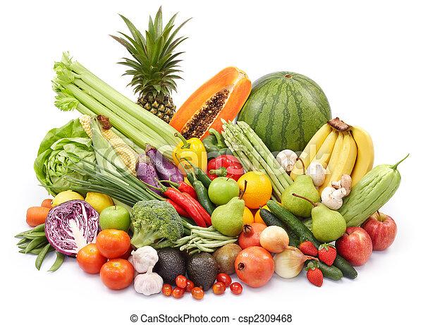 verdura, frutte - csp2309468