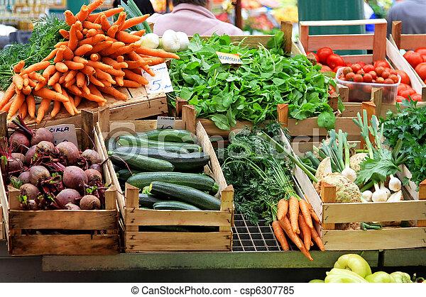 verdura, mercato - csp6307785