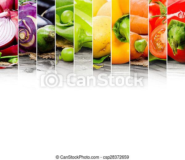 verdura, miscelare - csp28372659