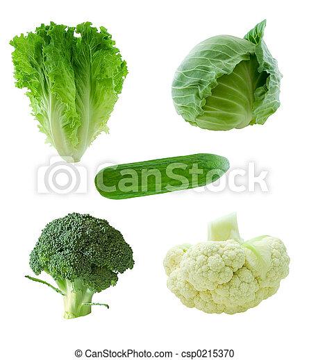 verdura, verde - csp0215370