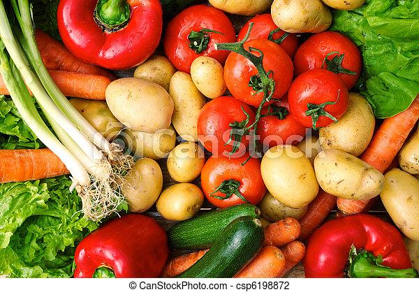 verdure fresche - csp6198872