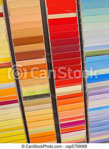 vernice, campioni - csp5759068