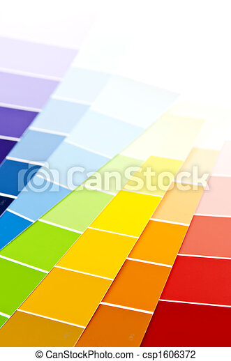 vernice, campioni, scheda, colorare - csp1606372