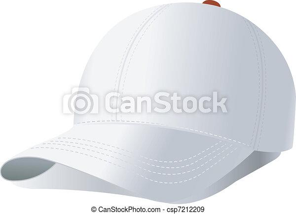 vettore, berretto, baseball - csp7212209