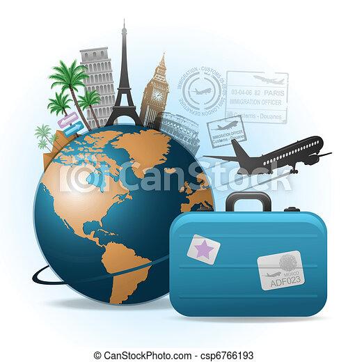 viaggiare, fondo - csp6766193