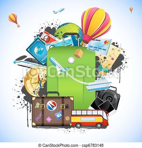 viaggiare, pacchetto - csp6783148