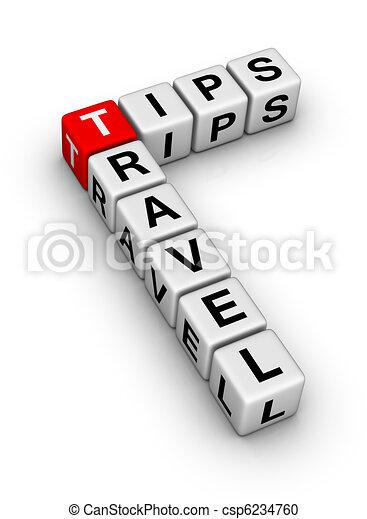 viaggiare, punte - csp6234760