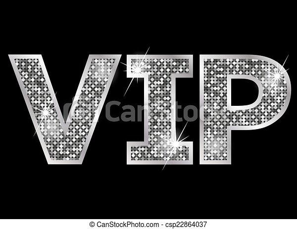 vip, molto, -, persona, icona, importante - csp22864037