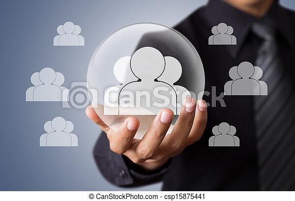 vita, concetto, assicurazione - csp15875441