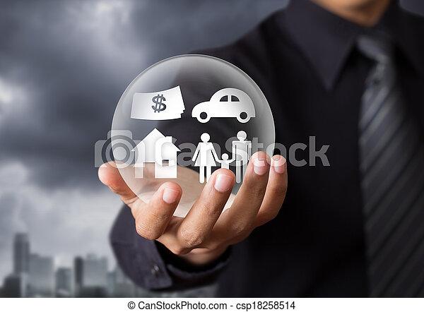 vita, concetto, assicurazione - csp18258514