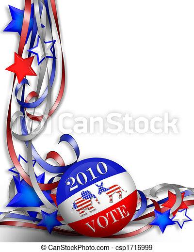 voto, 2010, giorno, elezione - csp1716999