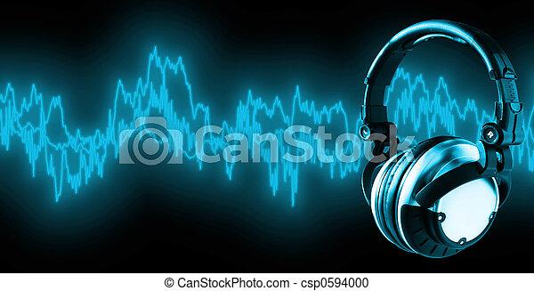 xxl), (+clipping, musica, percorso, ascoltare - csp0594000