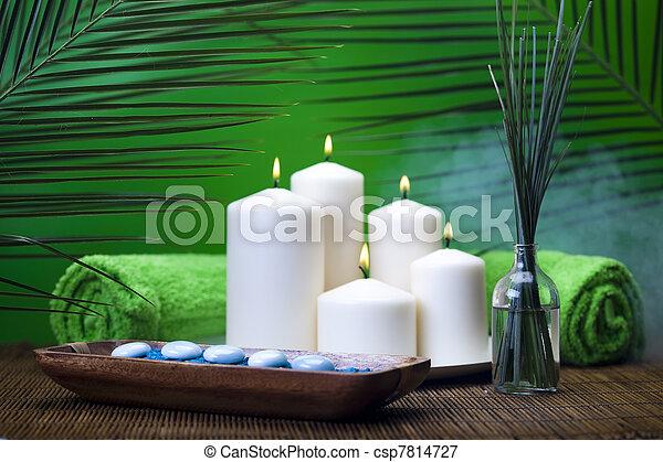 zen, terme, natura morta - csp7814727